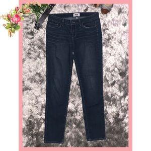 🌸 Paige Skyline Mid Rise Ankle Peg Blue Jeans 29